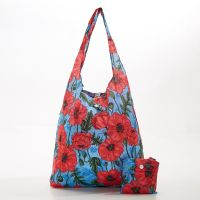 FOLDAWAY SHOPPER - A09 BLUE POPPIES