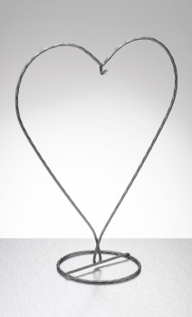 Stand (heart) Silver