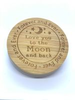 CANDLE & LID - LOVE YOU TO THE MOON AND BACK