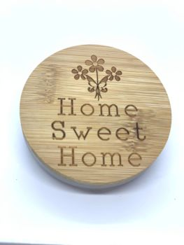 CANDLE & LID - HOME SWEET HOME