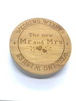 CANDLE & LID - THE NEW MR & MRS