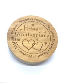 CANDLE & LID - HAPPY ANNIVERSARY