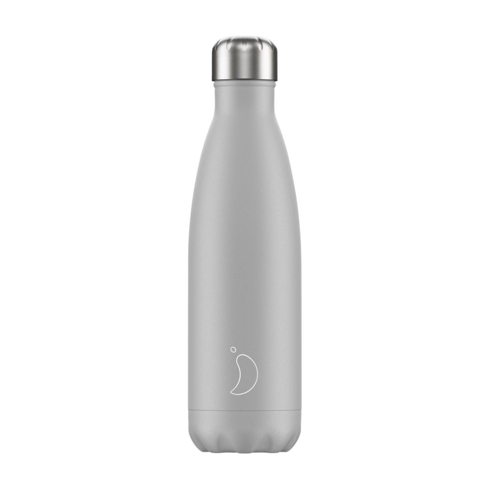 CHILLY'S BOTTLE 500ML - [MONOCHROME] GREY LIGHT