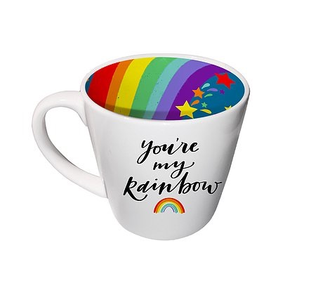 INSIDE OUT MUG -  YOU ARE MY RAINBOW (ISO172)