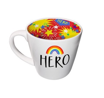 INSIDE OUT MUG -  YOU ARE MY HERO (ISO171)