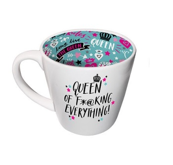 INSIDE OUT MUG -  QUEEN OF EVERYTHING (ISO166)