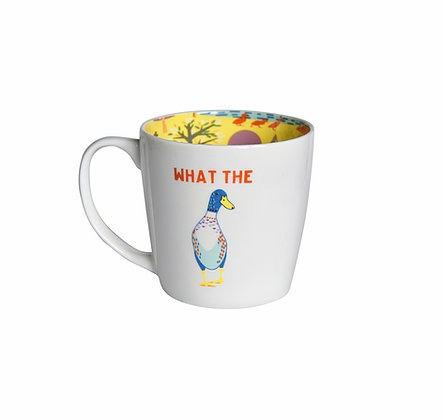 INSIDE OUT MUG - WHAT THE DUCK (ISO143)