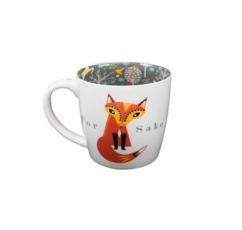 INSIDE OUT MUG - FOR FOX SAKE (ISO134)