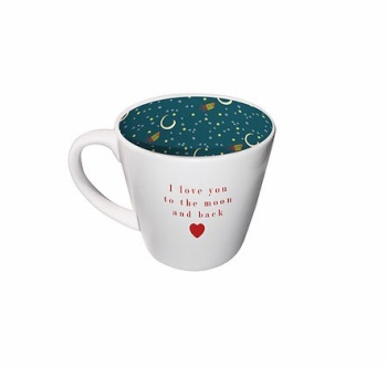 INSIDE OUT MUG - LOVE YOU TO THE MOON AND BACK (ISO110)
