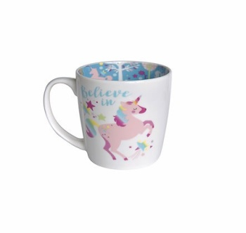 INSIDE OUT MUG - BELIEVE IN UNICORNS (ISO145)