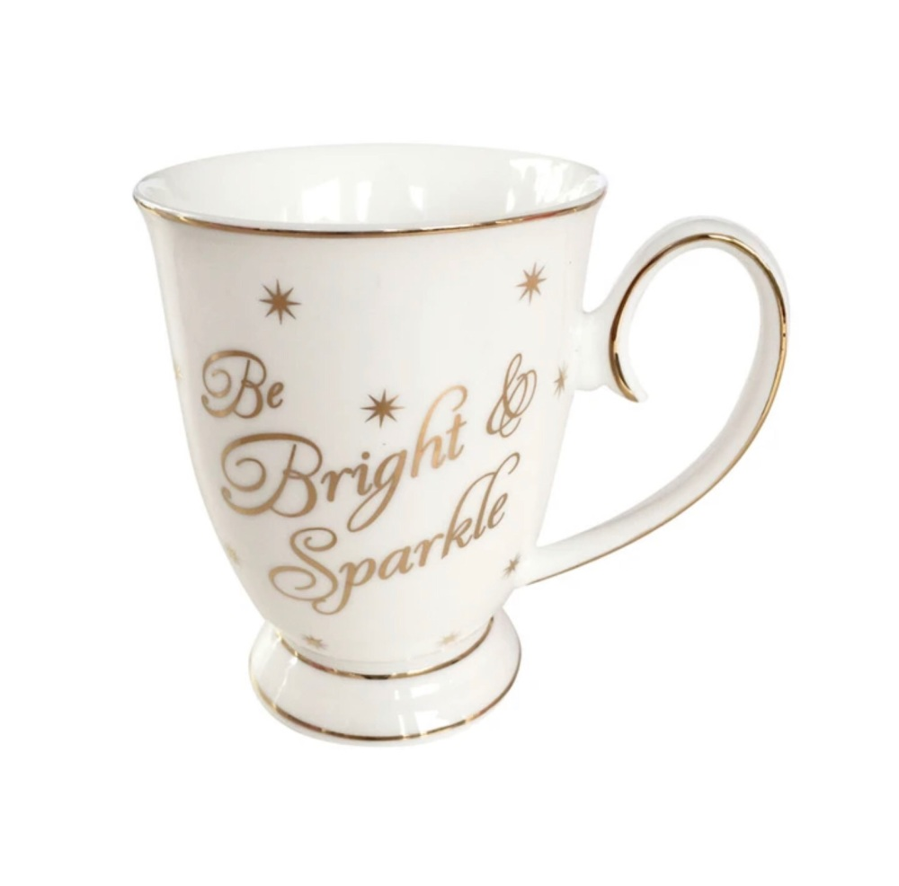 BE BRIGHT & SPARKLE MUG - VIA500B