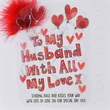 TO MY HUSBAND CV98