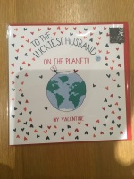 HUSBAND - LUCKIEST HUSBAND ON THE PLANET DT01