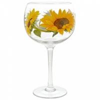 Copa Glass - Sunflowers