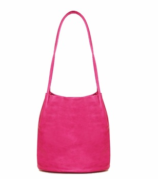 ROSA - LONG STRAP SHOULDER BAG, PINK