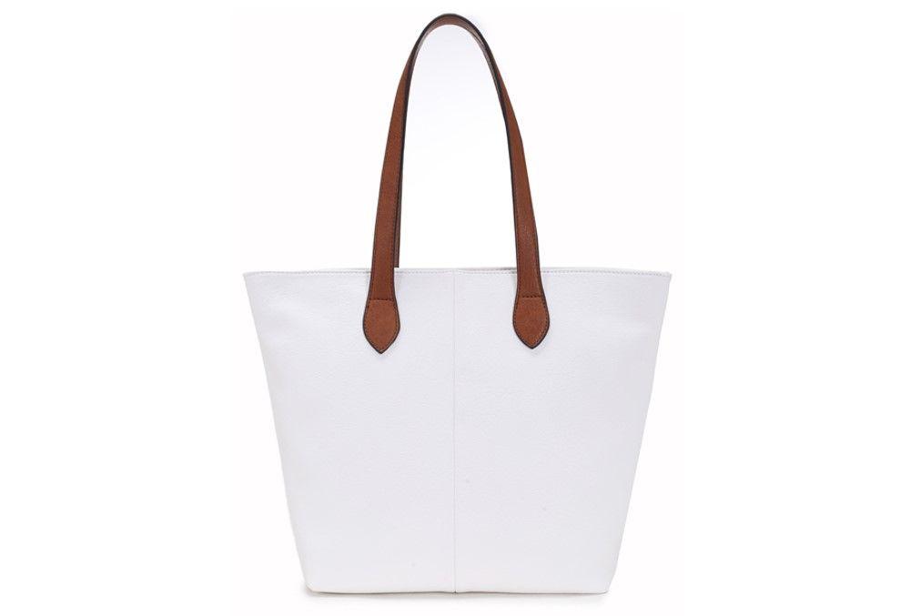 SOHO - LONG STRAP SHOULDER BAG, WHITE