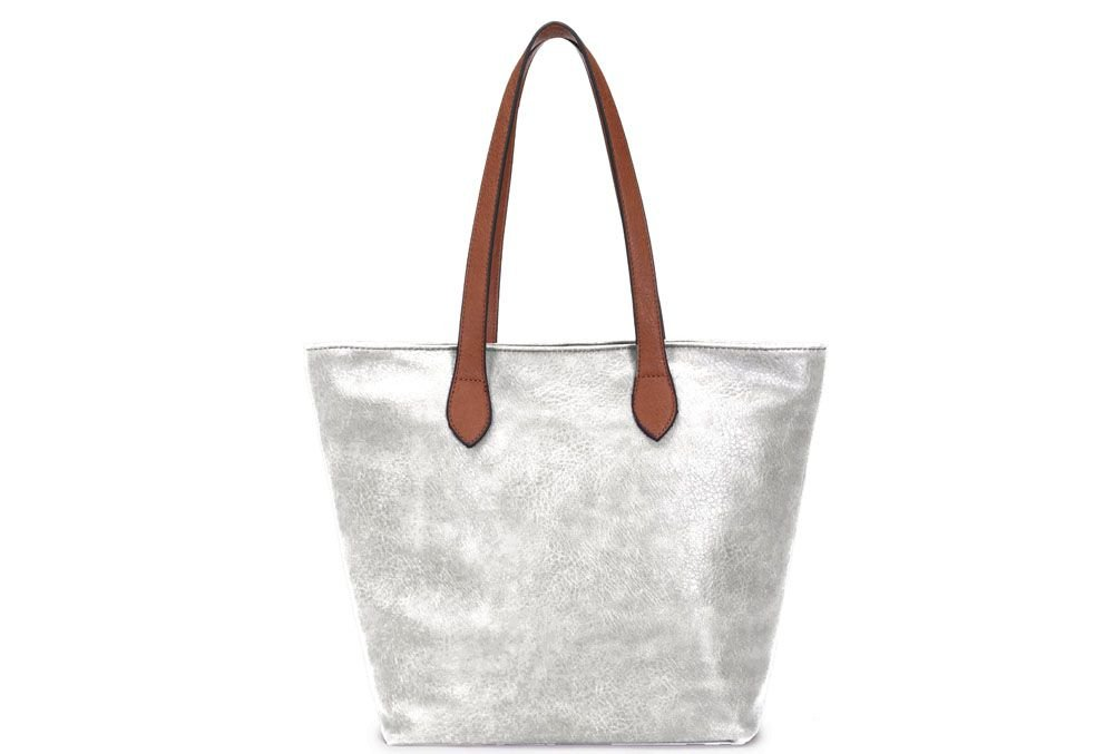 SOHO - LONG STRAP SHOULDER BAG, SILVER