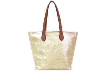 SOHO - LONG STRAP SHOULDER BAG, GOLD