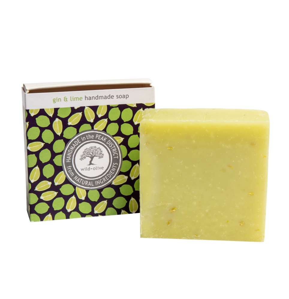 WILD OLIVE - 100G SOAP | GIN & LIME