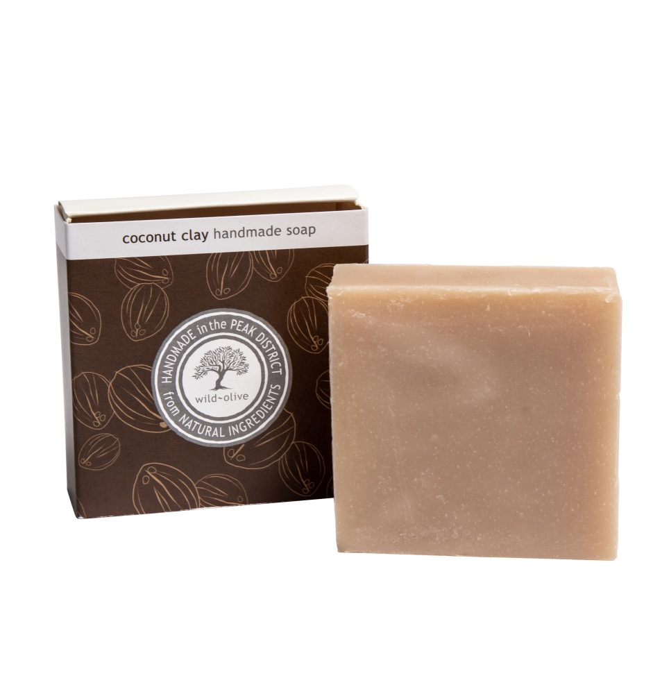 WILD OLIVE - 100G SOAP   COCONUT CLAY