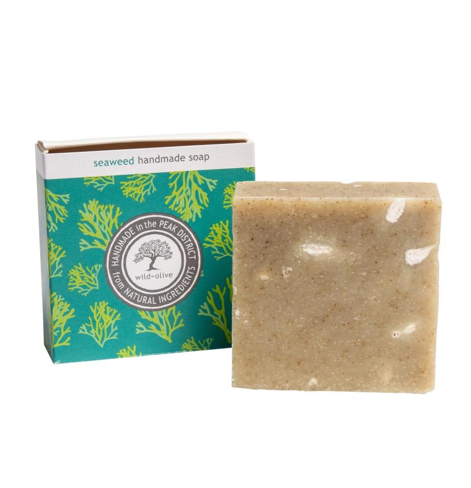 WILD OLIVE - 100G SOAP | SEAWEED DETOX