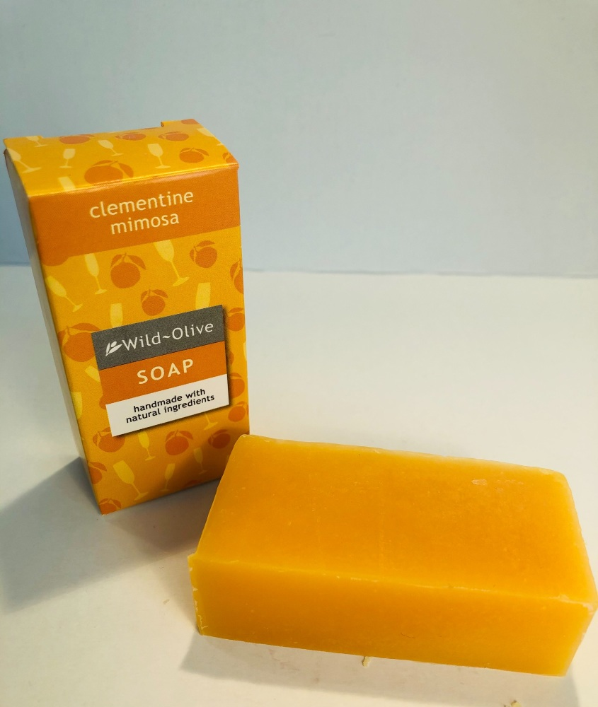 WILD OLIVE - 50G SOAP   CLEMENTINE AND PROSECCO