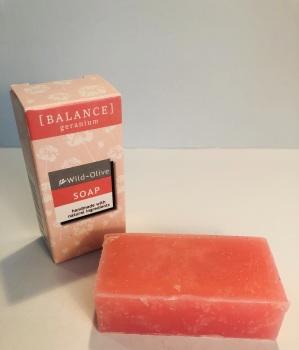 WILD OLIVE - 50G SOAP | BALANCE [GERANIUM]