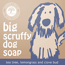 WILD OLIVE - 100G PET SOAP | BIG SCRUFFY DOG SOAP