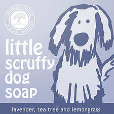 WILD OLIVE - 100G PET SOAP | LITTLE SCRUFFY DOG SOAP