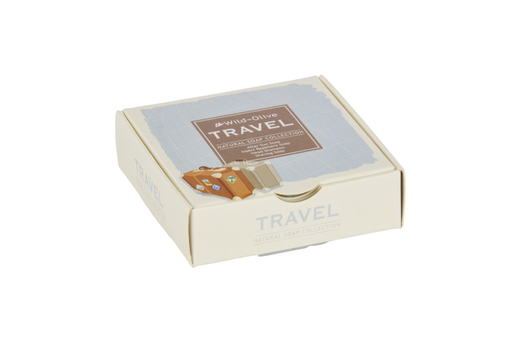 WILD OLIVE - TRAVEL NATURAL SOAP COLLECTION