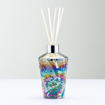 REED DIFFUSER BOTTLE - FLUTE PASTEL SILVER