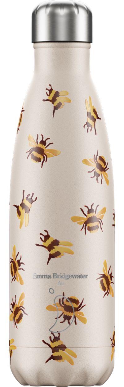 CHILLY'S BOTTLE 500ML - EMMA BRIDGEWATER BUMBLE BEE