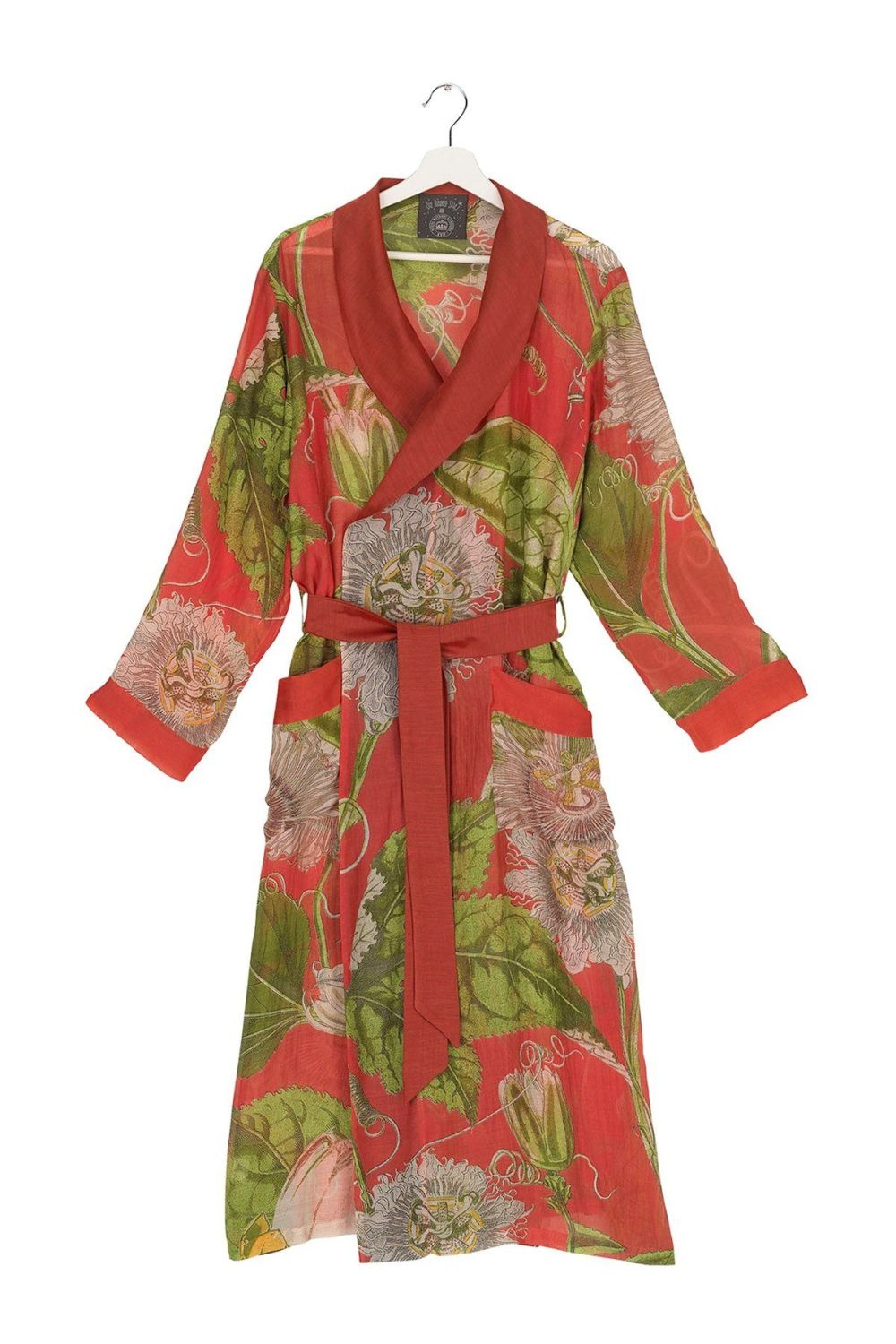 GOWN KEW PASSION FLOWER SCARLET RED