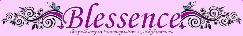 Blessence, site logo.