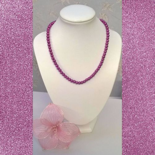 Magenta Sunset Necklace Kit