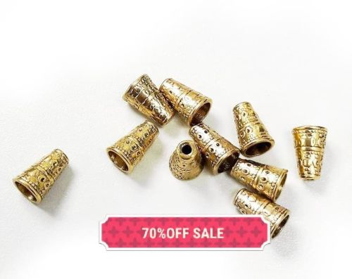 30 Gold Cone Ends