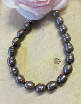 Freshwater Pearls Chocolate colour