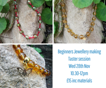 Beginners Jewellery Making Taster Session