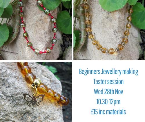 <!009->Beginners Jewellery Making Taster Session