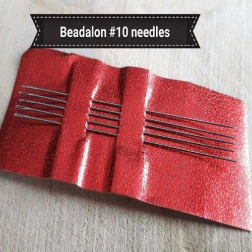 Pack of Beadalon Beading needles size 10