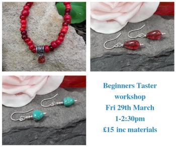 Beginners Jewellery Making Taster session workshop