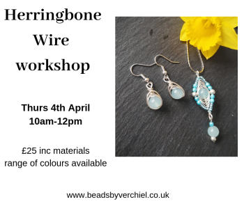 Wirework Herringbone workshop