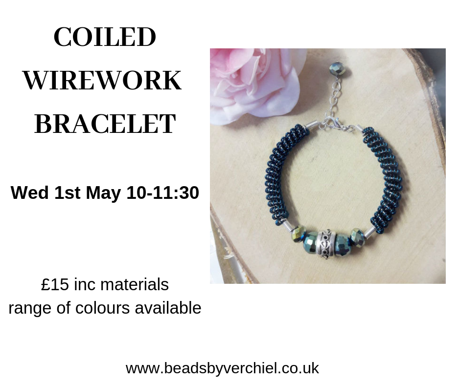 wirework bracelet workshop swindon
