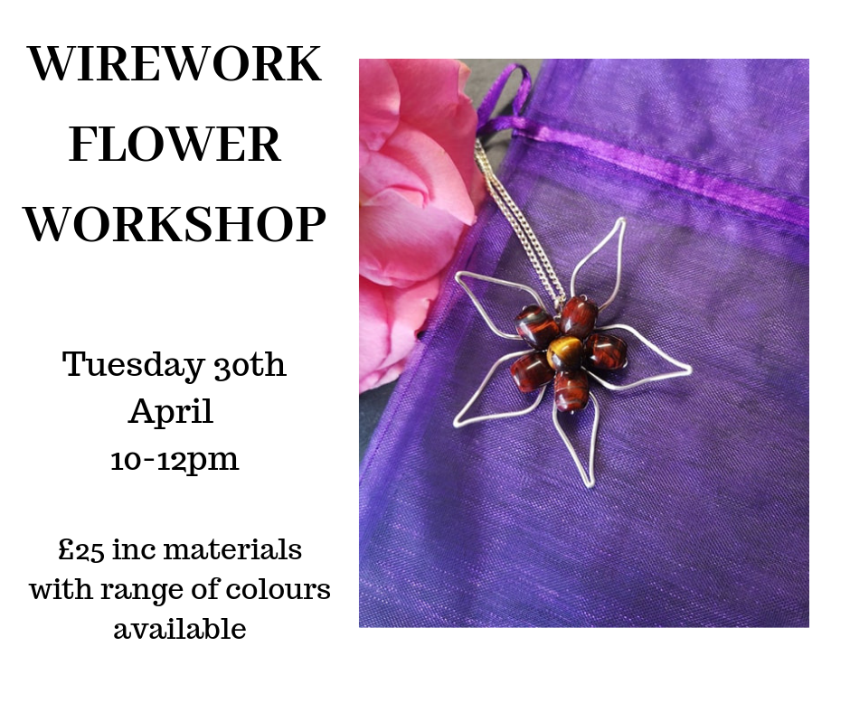 wirework flower workshop