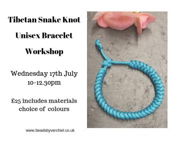 Unisex Braided Snake Knot Bracelet