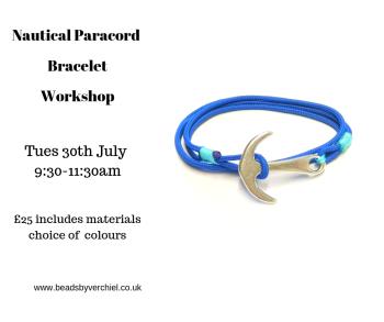 Nautical Bracelet workshop
