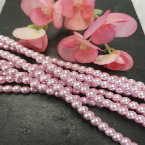 Glass and Crystal bead Strands
