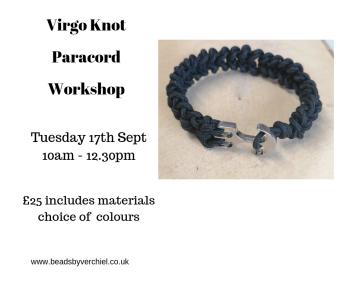 Virgo Knot Paracord Bracelet