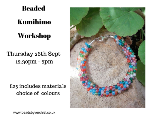 <!005->Beaded Kumihimo Workshop