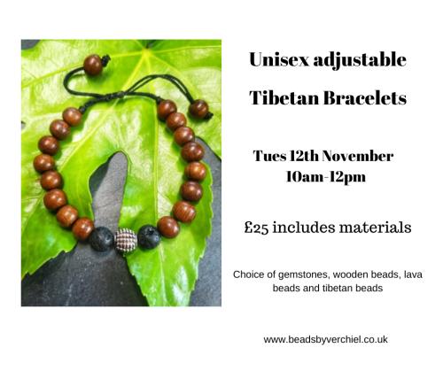 <!006--> Unisex adjustable Tibetan bracelet